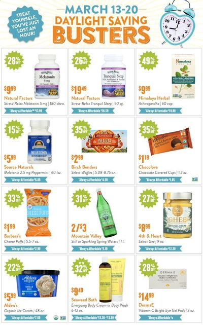 Natural Grocers Weekly Ad Flyer March 13 to March 20