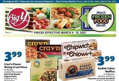 Big Y (CT, MA) Weekly Ad Flyer March 4 to March 31