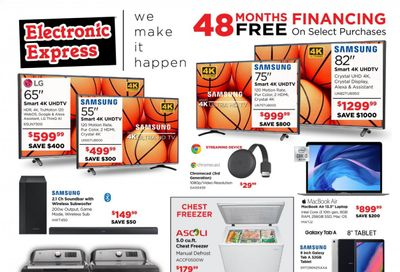 Electronic Express Weekly Ad Flyer March 7 to March 13