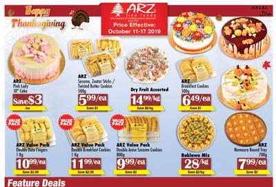 Arz Fine Foods Flyer October 11 to 17