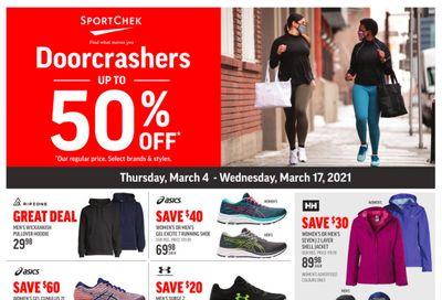 Sport Chek Flyer March 4 to 17