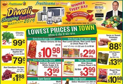 Fruiticana (Edmonton) Flyer October 11 to 16