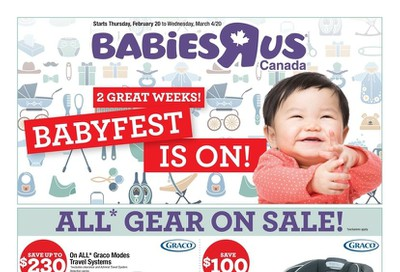 Babies R Us Flyer February 20 to March 4
