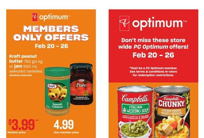 Loblaws City Market (West) Flyer February 20 to 26