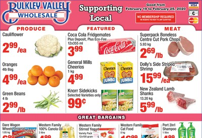 Bulkley Valley Wholesale Flyer February 19 to 25