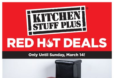 Kitchen Stuff Plus Red Hot Deals Flyer March 8 to 14