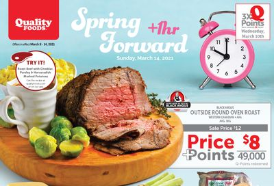 Quality Foods Flyer FebruaryMarch 8 to 14