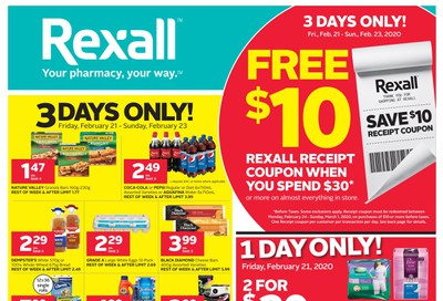 Rexall (West) Flyer February 21 to 27