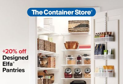 The Container Store Weekly Ad Flyer March 8 to April 18