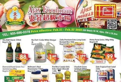 Ajax Foodmart Flyer February 21 to 27