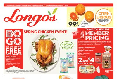 Longo's (Liberty Village) Flyer March 11 to 24