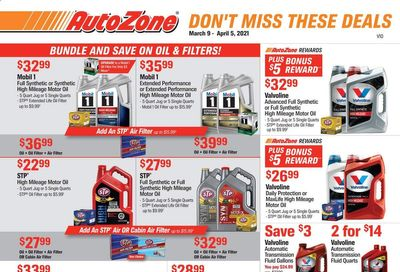 Autozone Weekly Ad Flyer March 9 to April 5