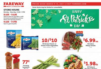 Fareway (IA, IL, MN, MO, NE, SD) Weekly Ad Flyer March 9 to March 15