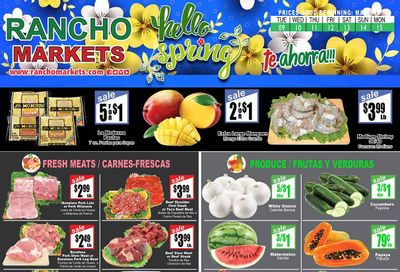 Rancho Markets Weekly Ad Flyer March 9 to March 15