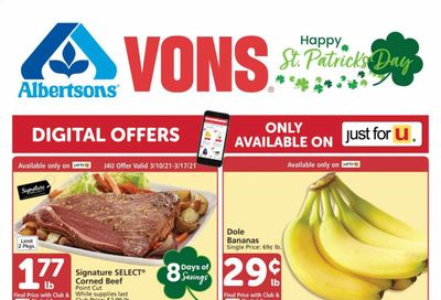 Albertsons Weekly Ad Flyer March 10 to March 16