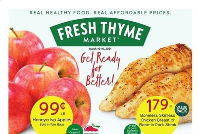 Fresh Thyme Weekly Ad Flyer March 10 to March 16