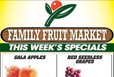 Family Fruit Market Flyer October 12 to 14