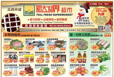 Full Fresh Supermarket Flyer February 21 to 27