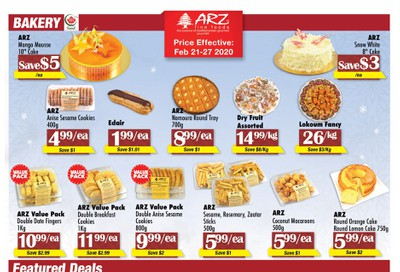 Arz Fine Foods Flyer February 21 to 27