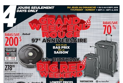 Canadian Tire (QC) Flyer September 5 to 8