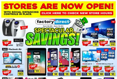 Factory Direct Flyer March 10 to 17