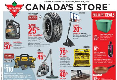 Canadian Tire (ON) Flyer March 12 to 18