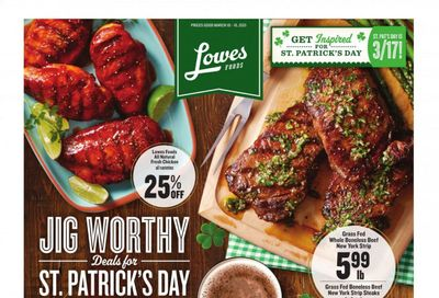 Lowes Foods Weekly Ad Flyer March 10 to March 16