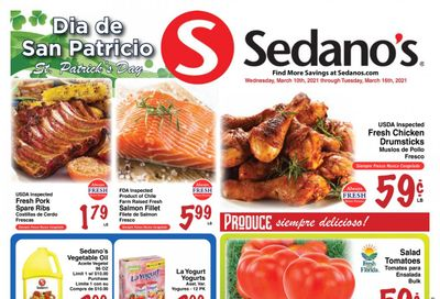 Sedano's (FL) Weekly Ad Flyer March 10 to March 16