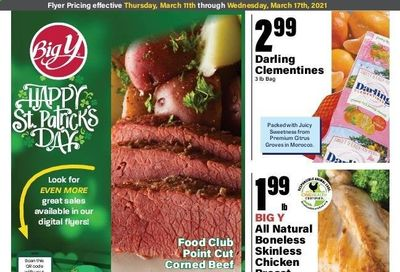 Big Y (CT) Weekly Ad Flyer March 11 to March 17