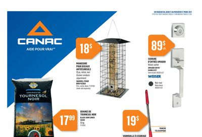 Canac Flyer March 11 to 17