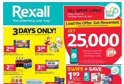 Rexall (West) Flyer March 12 to 18