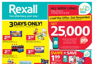 Rexall (ON) Flyer March 12 to 18