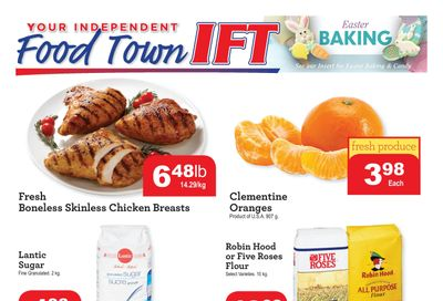 IFT Independent Food Town Flyer March 12 to 18