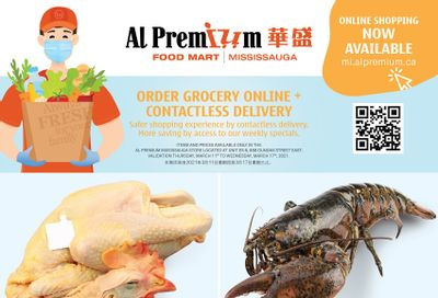 Al Premium Food Mart (Mississauga) Flyer March 11 to 17