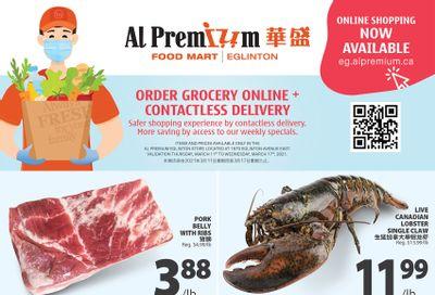 Al Premium Food Mart (Eglinton Ave.) Flyer March 11 to 17
