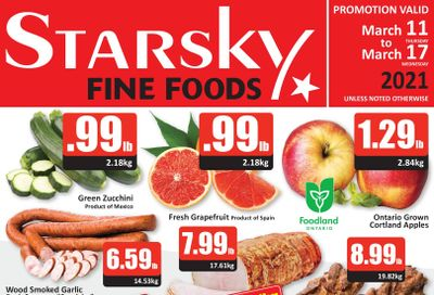 Starsky Foods Flyer March 11 to 17