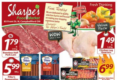 Sharpe's Food Market Flyer March 11 to 17