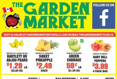 The Garden Market Flyer March 12 to 18