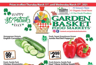 The Garden Basket Flyer March 11 to 17