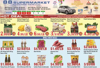 88 Supermarket Flyer March 11 to 17