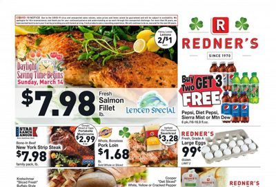 Redner's Markets Weekly Ad Flyer March 11 to March 17