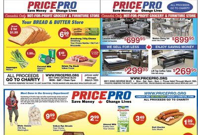 Price Pro Flyer March 10 to 16