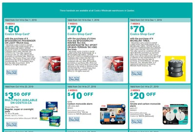 Costco (QC) Weekly Savings October 14 to 20