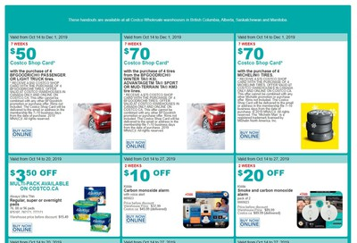Costco (BC, AB, SK and MB) Weekly Savings October 14 to 20