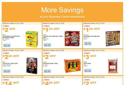 Costco Business Centre (Scarborough, ON) Instant Savings Flyer October 14 to 27