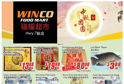 WinCo Food Mart (HWY 7) Flyer September 5 to 11