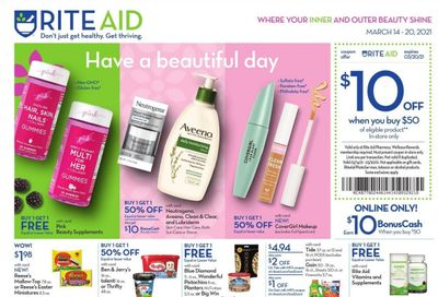 RITE AID Weekly Ad Flyer March 14 to March 20