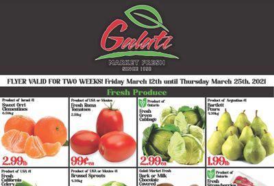 Galati Market Fresh Flyer March 12 to 25
