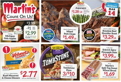 Martin's Weekly Ad Flyer March 14 to March 20