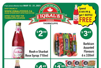 Iqbal Foods Flyer March 12 to 21